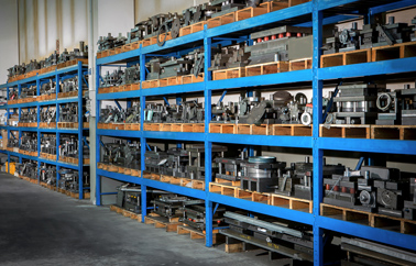 Mould storage - Warehouse 2